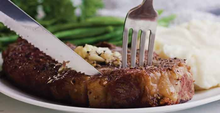 Enjoy The Grilled Steak