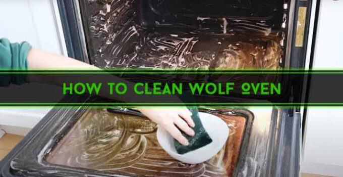 How to Clean Wolf Oven : 6 Easy Methods