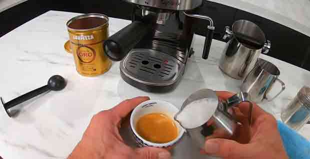 The Process Of Making Espresso