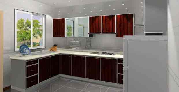 Use Corner Cabinets as Storage for Your Appliances