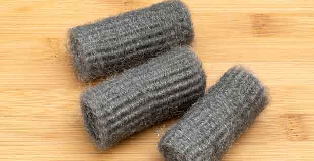 Use Fine Steel Wool to Remove Grime