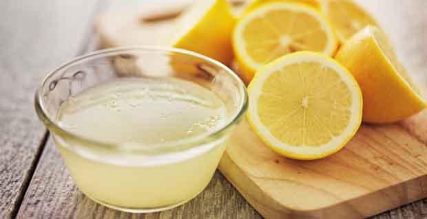 Use of Lemon Juice