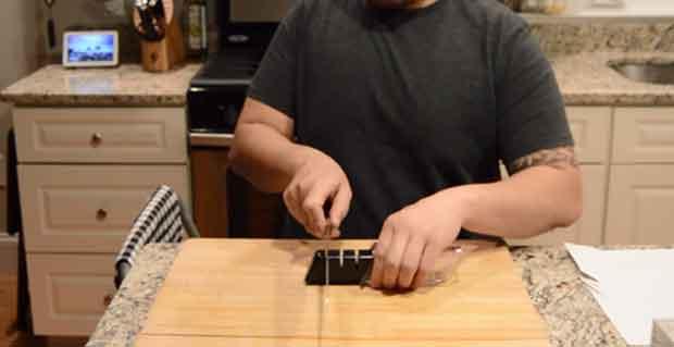Using a Ceramic Sharpener