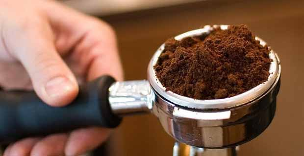 Using a Coffee Grinder