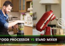 Food Processor vs Stand Mixer : Where's the Difference?