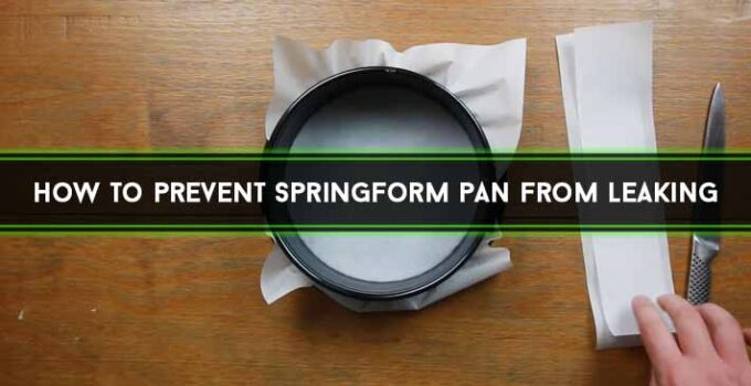 How to Prevent Springform Pan from Leaking [Explained]