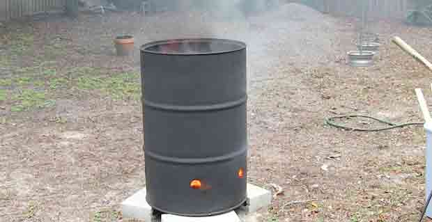 Install a Grate for the Fire