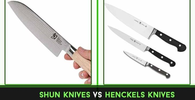 Shun vs Henckels Knives : Full Comparison Explained