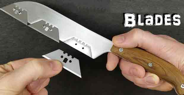 Types Curved of Knife Blade